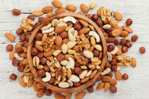allergia a frutta secca e soia