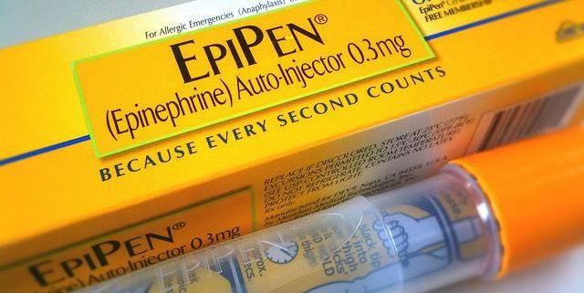 epipen autoiniettore di adrenalina